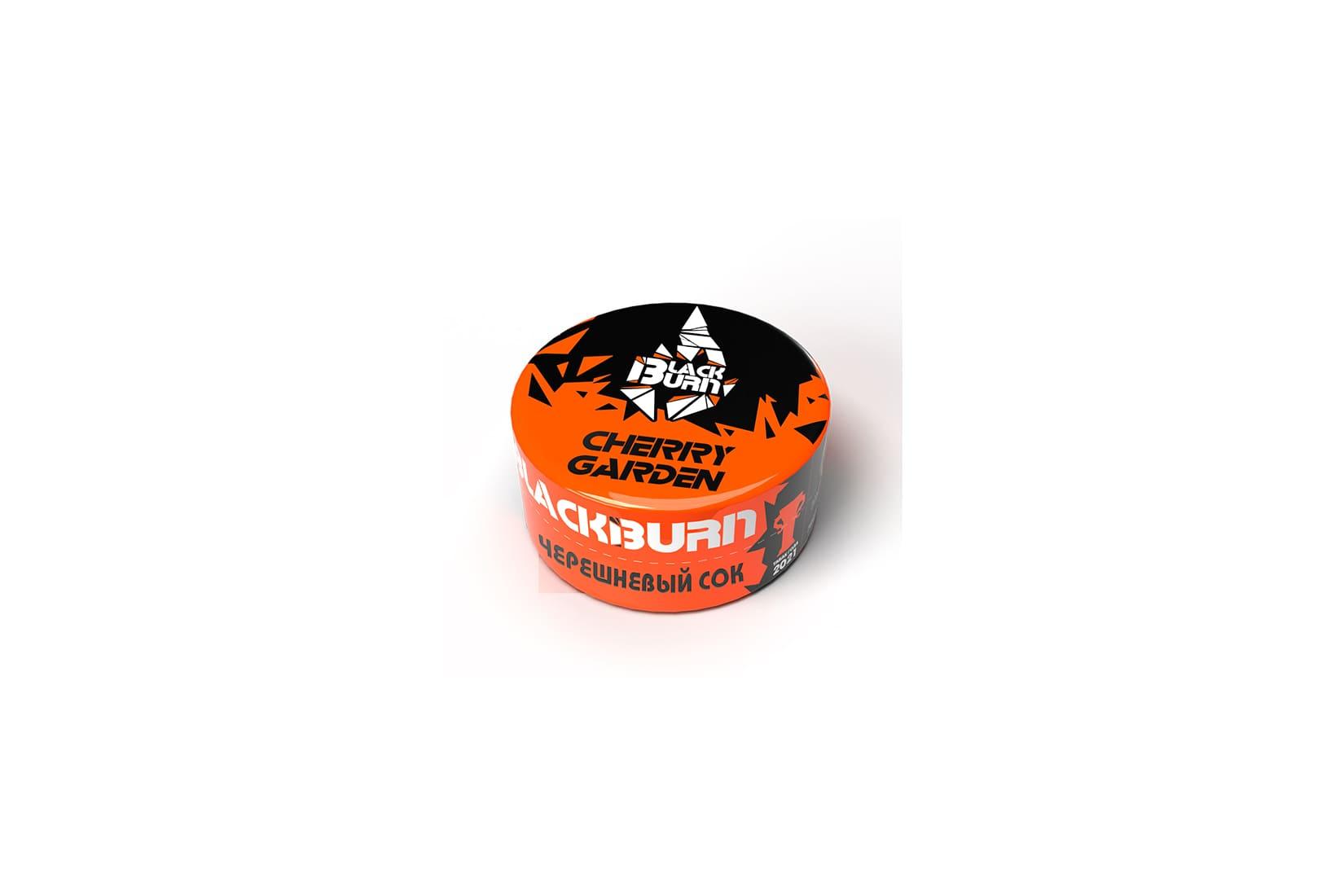 Табак для кальяна Black Burn CHERRY GARDEN – описание, миксы, отзывы