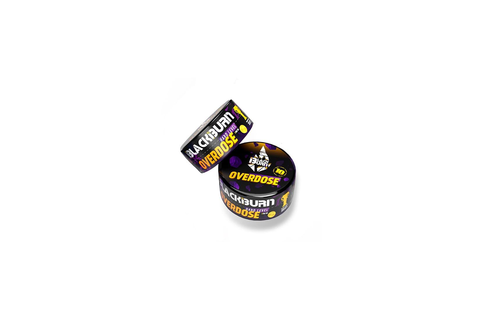 Табак для кальяна Black Burn Overdose – описание, миксы, отзывы