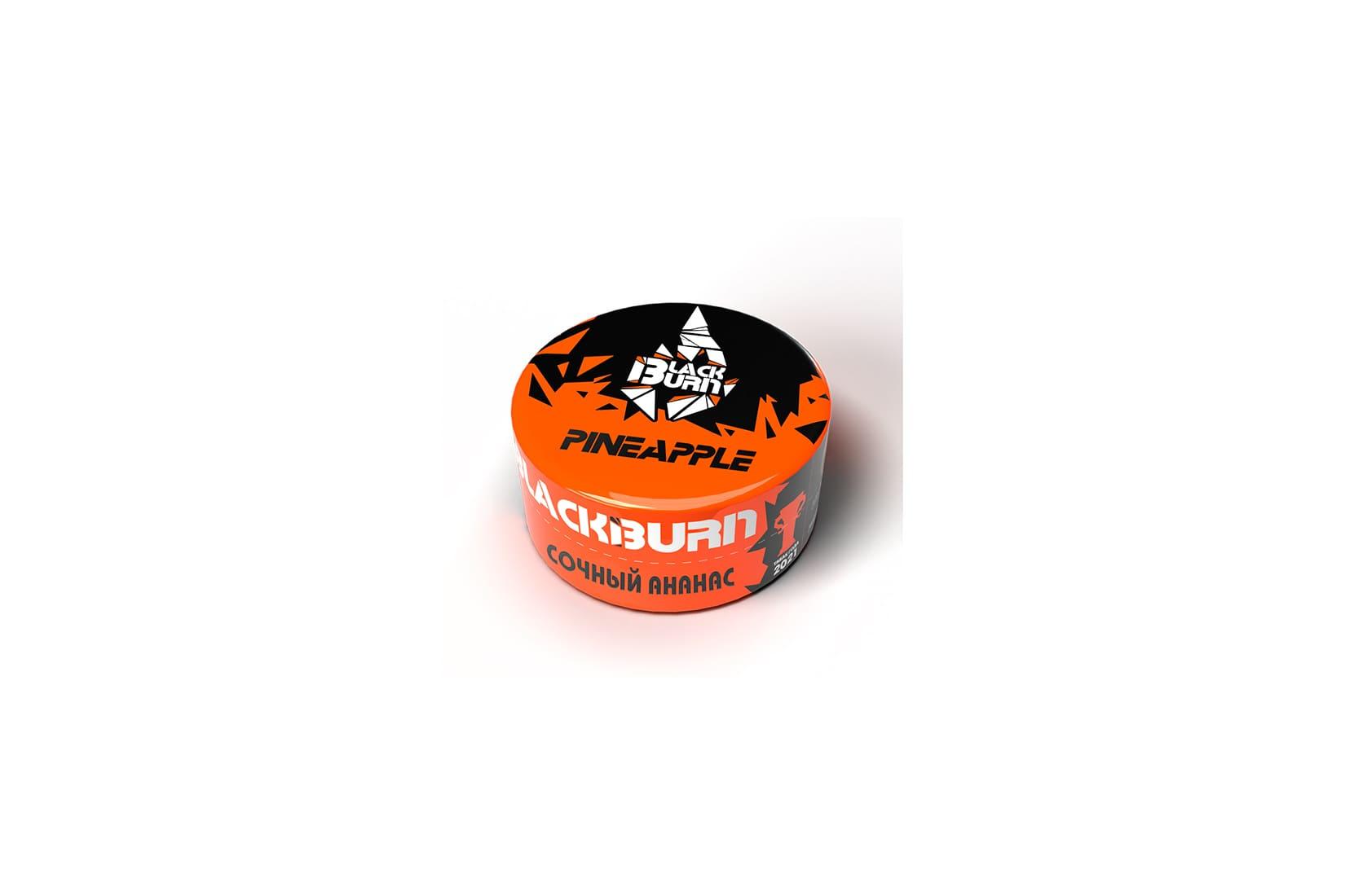 Табак для кальяна Black Burn PINEAPPLE  – описание, миксы, отзывы
