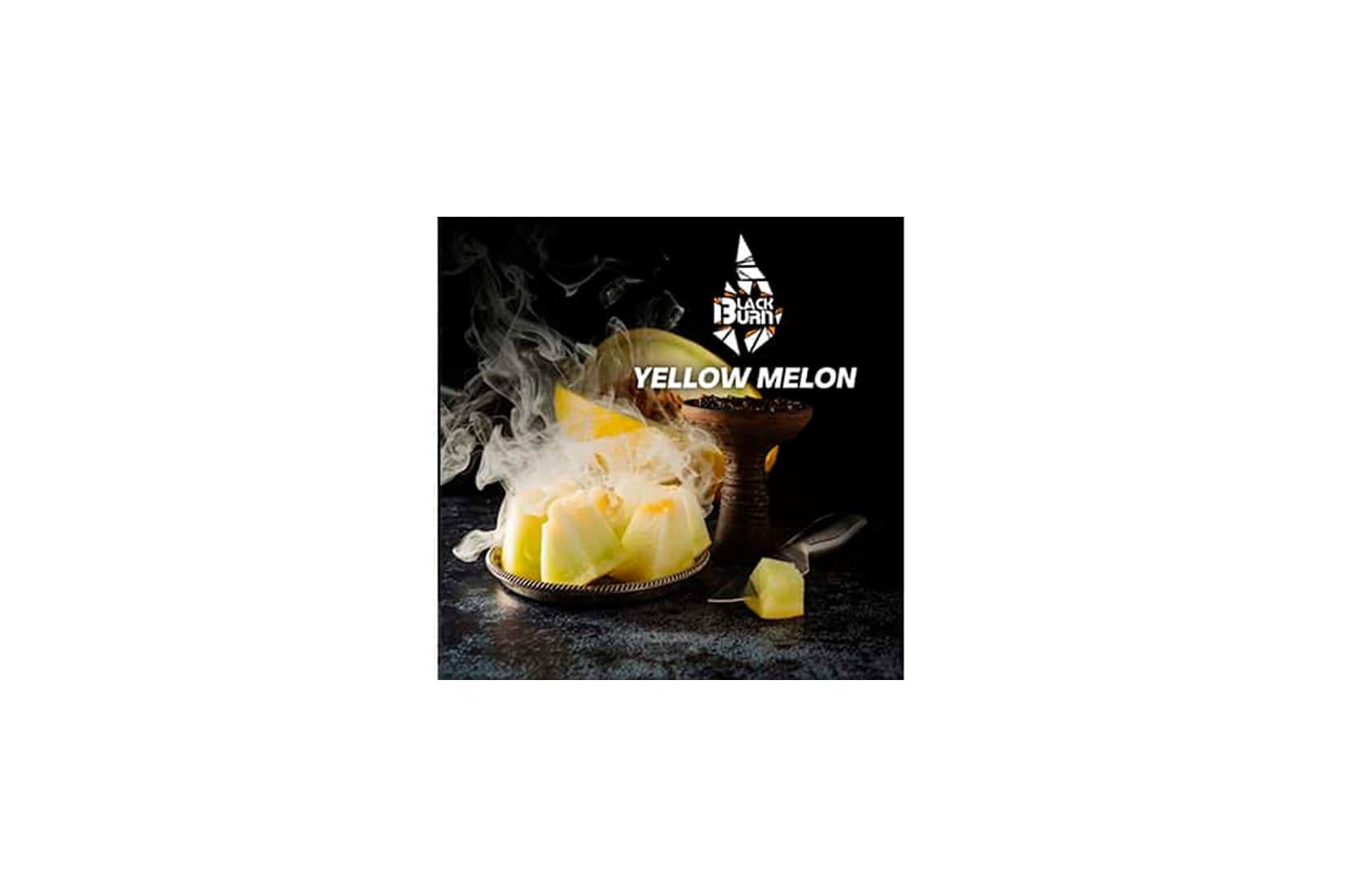 Табак для кальяна Black Burn YELLOW MELON – описание, миксы, отзывы