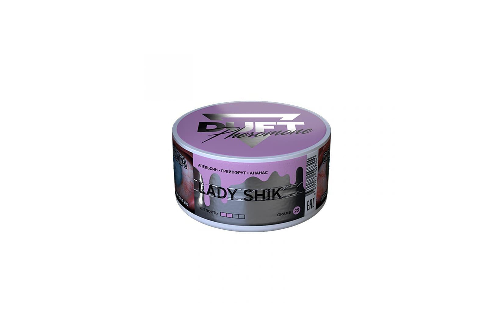 Табак для кальяна Duft Pheromon LADY SHIK: описание, миксы, отзывы
