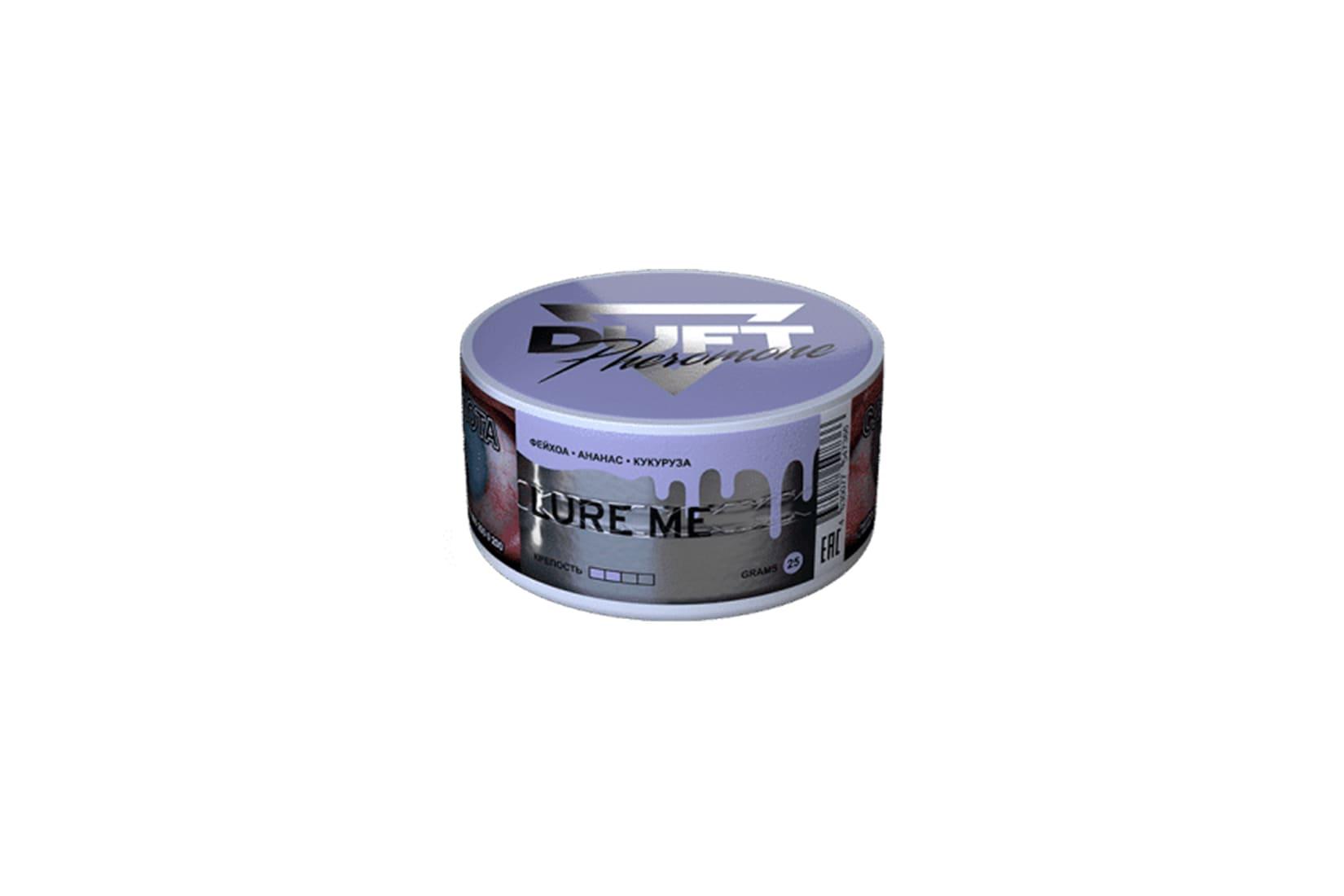 Табак для кальяна Duft Pheromon LURE ME: описание, миксы, отзывы