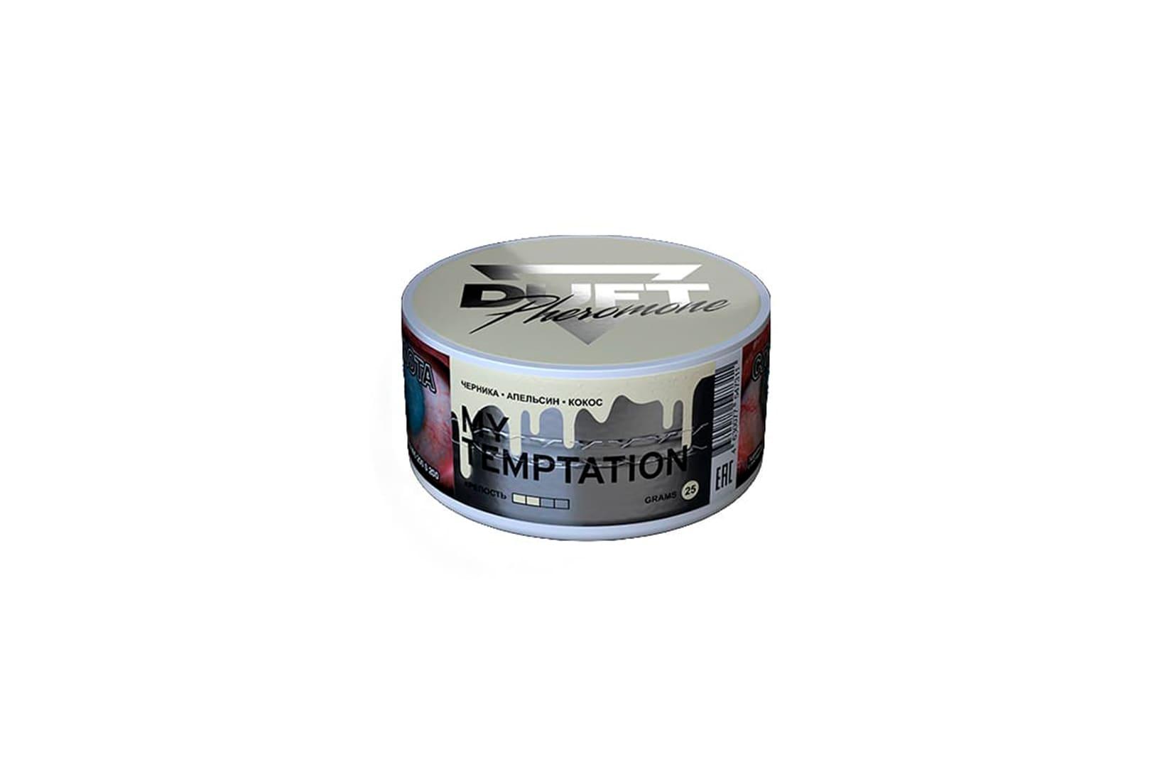 Табак для кальяна Duft Pheromon MY TEMPTATION: описание, миксы, отзывы