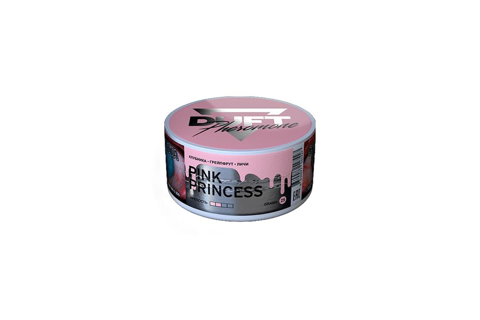 Табак для кальяна Duft Pheromon PINK PRINCESS: описание, миксы, отзывы